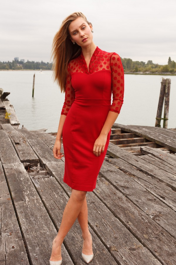 The red dress experiment